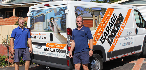 Greg And His Kid Residential Garage Doors Central Coast
